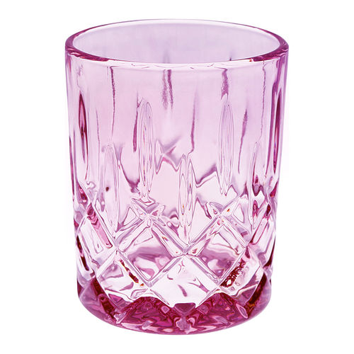GREENGATE Wasserglas Cutting plum small