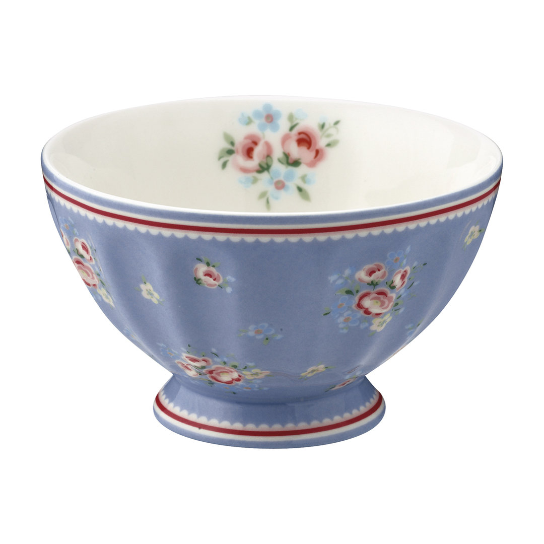 GREENGATE French bowl medium Nicoline dusty blue