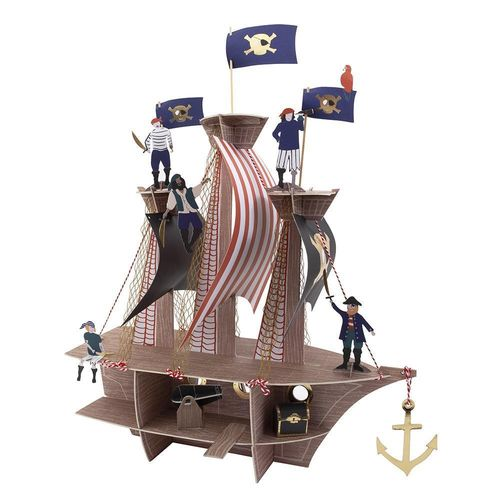 MERI MERI Piraten Etagere Deko Pirates Bounty Centrepiece