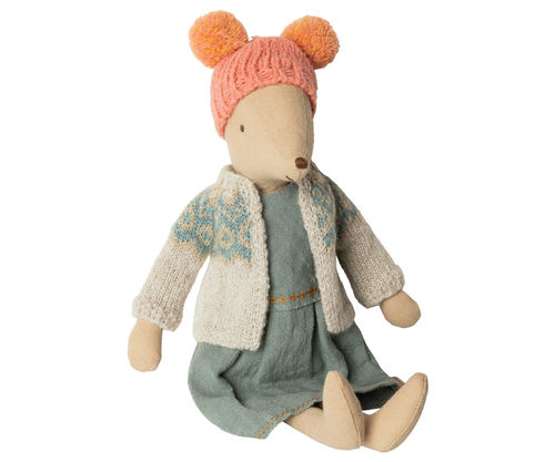 MAILEG Maus / Winter mouse, medium - Girl