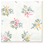 GREENGATE Serviette Papier  Mira white small 20 Stk.