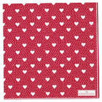 GREENGATE Serviette Papier Penny red large 20pcs